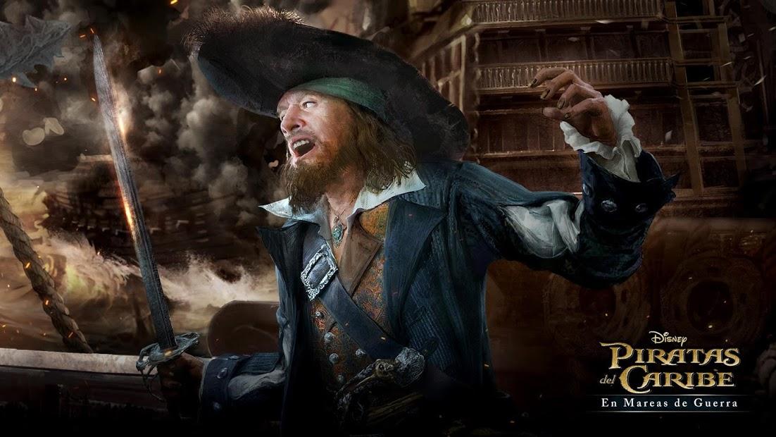 Piratas del Caribe: En Mareas de Guerra 4