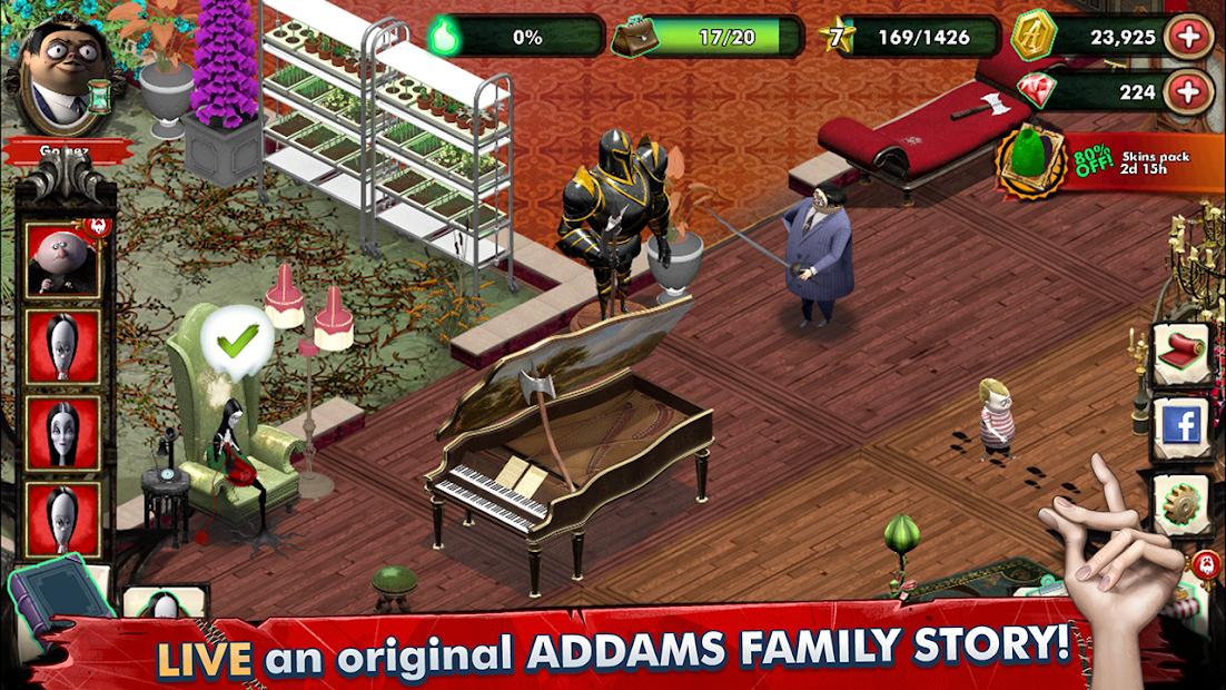 Los Locos Addams - Mansión Misteriosa 1