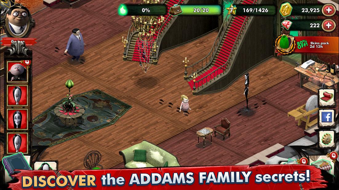 Los Locos Addams - Mansión Misteriosa 3