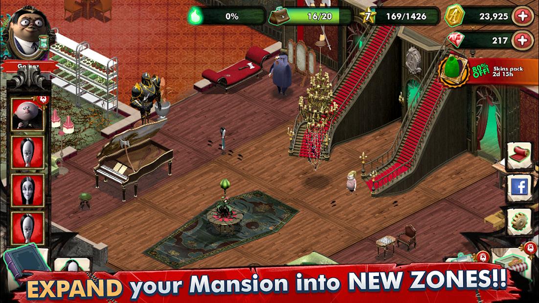 Los Locos Addams - Mansión Misteriosa 4