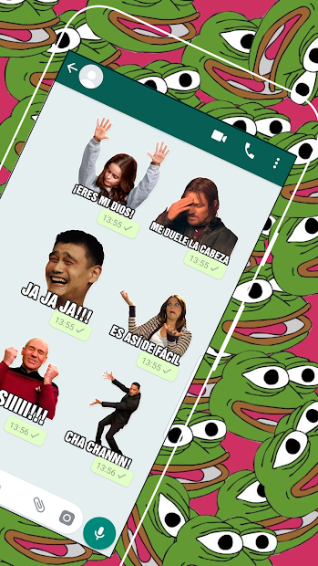 Memes con Frases Stickers para WhatsApp 2