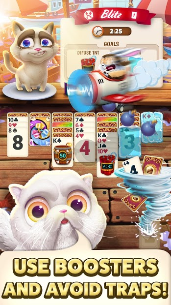 Solitaire Pets Adventure 5