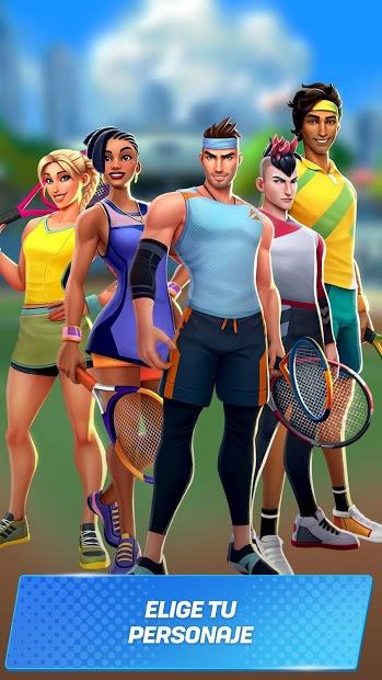 Tennis Clash 4