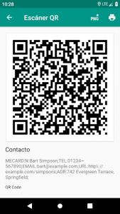 Lector de códigos QR y barras (español) 4