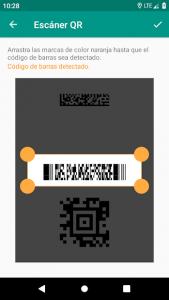 Lector de códigos QR y barras (español) 5