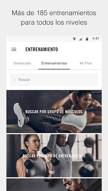 claramente Despertar calina  Nike Training Club 6.9.1 para Android | Descargar APK Gratis