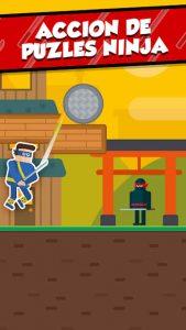 Mr Ninja: Puzles rebanadores 1
