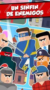 Mr Ninja: Puzles rebanadores 3