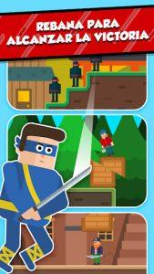 Mr Ninja: Puzles rebanadores 4