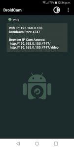 DroidCam Wireless Webcam 1