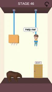 Rescue Cut - Rope Puzzle 1