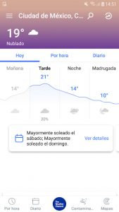 Tiempo - The Weather Channel 1