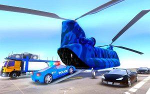 Car Transporter Truck Parking Driving 2019 1