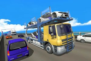 Car Transporter Truck Parking Driving 2019 3