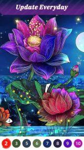 Flora Coloring 5