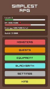 Simplest RPG Game 1