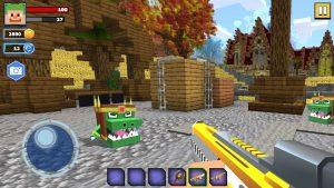 Fire Craft: 3D Pixel World 1