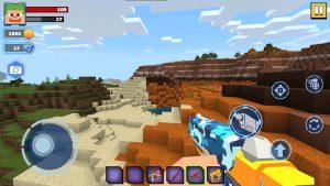 Fire Craft: 3D Pixel World 4