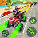 ATV Quad Bike Shooting and Racing Simulator