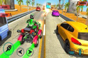 ATV Quad Bike Shooting and Racing Simulator 1