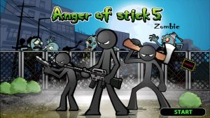 Anger of stick 5: zombie 1