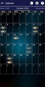 Fishing forecast 5
