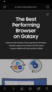 Samsung Internet Browser 2