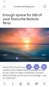 Samsung Internet Browser 4